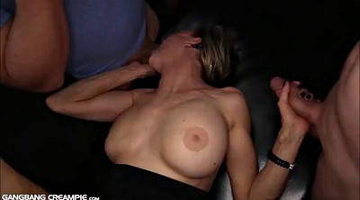 Compilation, Creampie compilation, Big tits creampie gangbang