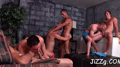 Group orgy, Anal party