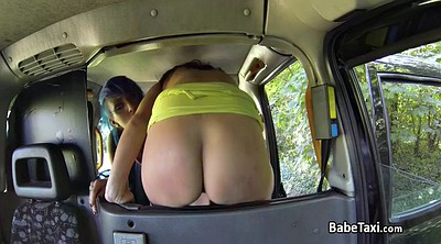 Taxi, Lesbo, Clit sucking