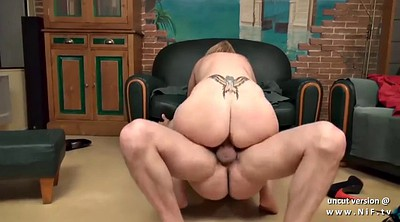 French mom, Ass to mouth