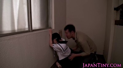 Japanese schoolgirl, Japanese schoolgirls, Uniform, Hard cum