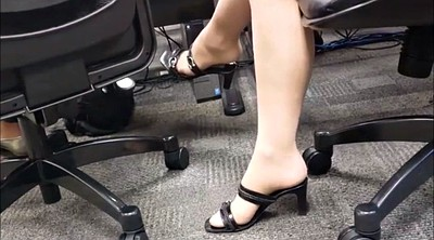 Nylon foot, Candid, Meeting, French foot