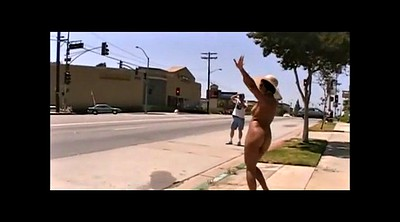 Naked public, Black woman