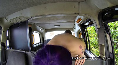 Taxi, Female taxi, Driver, Female, Purple