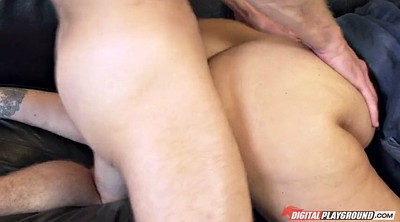 Julia ann, Caught, Busty matures
