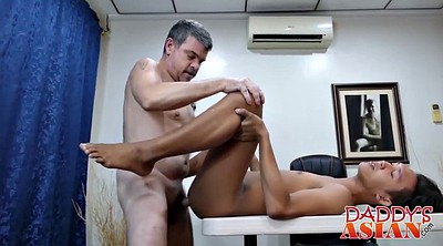 Asian old, Interracial gay, Dad gay, Asian young
