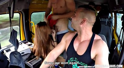 Bus, Czech orgy, Ultimate, Czech gangbang, Bang bus