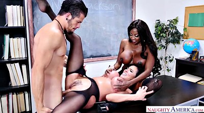 School teacher, Pantyhose fucking, Latina doggy fucking, Ebony teacher