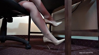 Shoeplay, Pantyhose foot, Pantyhose feet fetish, Pantyhose feet, Laura