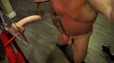Daddy, Huge dildo, Muscle daddy