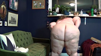 Striptease, Fat, Shaking, Bbw ass solo, Ass shaking