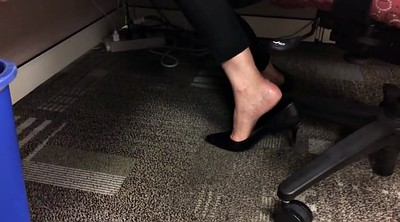 Candid, Shoeplay, Feet fetish, Foot party