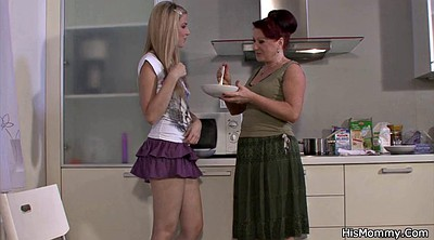 Lesbian moms, Old and young, Mom kitchen, Young and old lesbian, Old and young lesbians, Milf kitchen