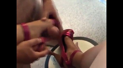 Shoes, Amateur cumshot compilation