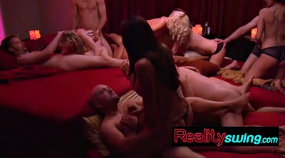 Group orgy, Swapping