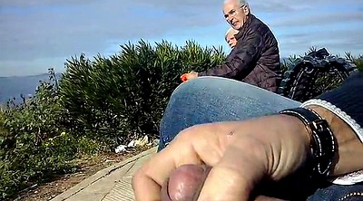 Granny masturbation, Mature outdoor, Dickflash