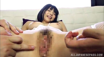 Loveing threesome, Asian double