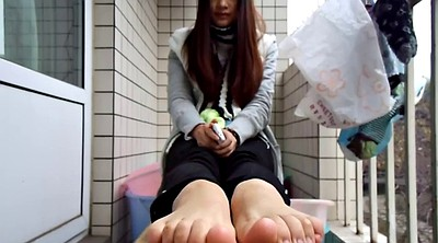Chinese foot, Asian foot, Chinese feet, Chinese teen, Sole, Teen foot