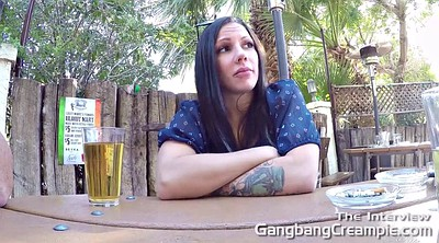 Panty, Interview, Public gangbang, Creampie casting