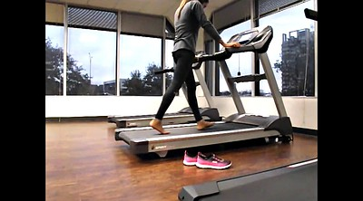 Pantyhose feet, Angelica, Workout, X video