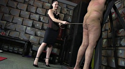 Caning, Cfnm, Femdom caning