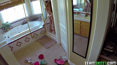 Kiss, Angell, Small tits lesbian, Take a shower, Showers, Alice