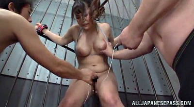 Hairy, Vibrator, Orgasms, Asian tits, Asian bondage
