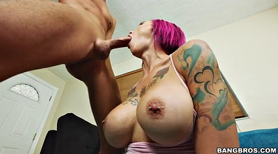 Huge tits, Anna bell