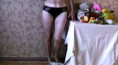 Russian mature, Bitch, Russian amateur, Masturbation mature