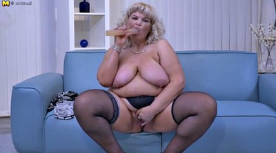 Milf, Bbw striptease