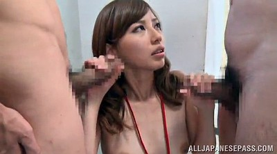 Asian orgasm, Meet, Double blowjob