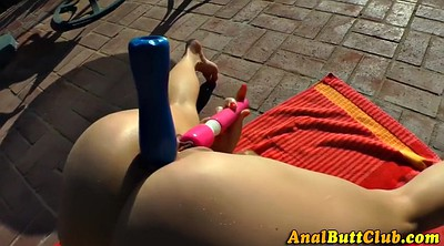 Squirt anal, Toys