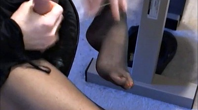Nylon feet, Crossdresser, Gay anal, Cum on feet, Cum gay