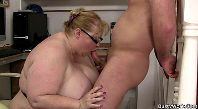 Office sex, Huge bbw