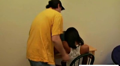 Amateur ebony, Asian spanking