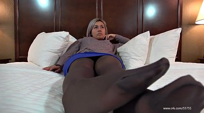 Foot, Nylon, Italian, Pantyhose foot