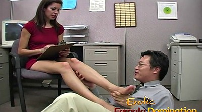 Cfnm, Worker, Sexy feet, Big foot