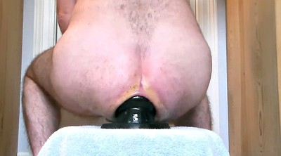 Prolapse, Big ass dildo, Anal fisting, Gay sex, Ass fisting, Anal toy gay