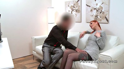 Fake agent, Riding stockings, Fake casting