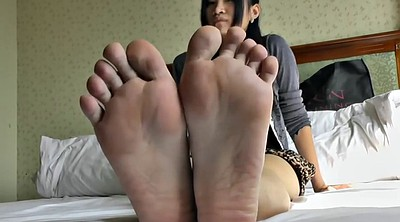 Asian foot, Young foot, Asian feet, Asian young