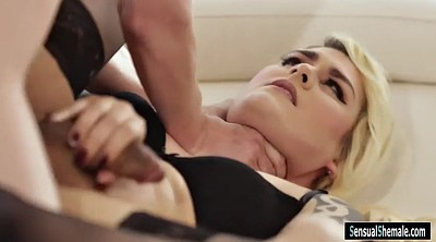 Blond anal, Isabella, Blonde shemale, Tranny anal