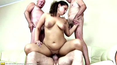Grandpa, Piss, Teen girl, Old grandpa, Piss group