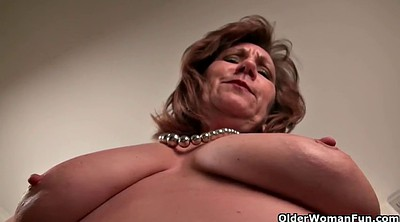 Mature solo, Granny solo, Record, Mature masturbation, Big granny