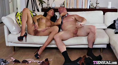 Big dick shemale, Asian ladyboy