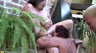 Sex mom, Private party, Mature granny