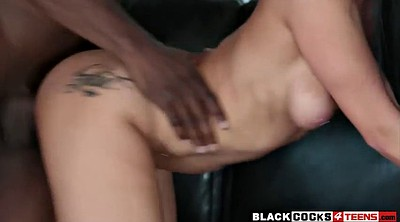 Teen interracial, Teen ebony