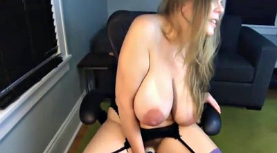 Saggy tits, Mature dildo