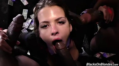 Black gangbang, Hole, Swallow
