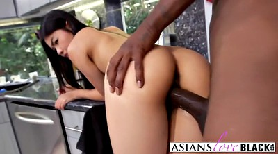 Asian black, Small pussy