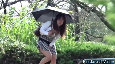 Pee voyeur, Japanese outdoor
